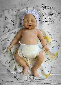 14 Preemie Full Body Silicone Baby Girl Doll Tabitha
