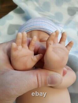 15 Preemie Full Body Silicone Baby Boy Doll Tyler