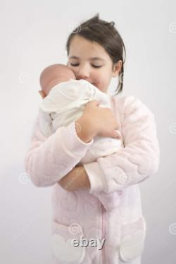 17 Realistic Baby Doll Lifelike Soft Vinyl Real Life Handmade Doll Baby Girl US