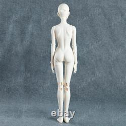 1/3 BJD SD Doll Girl Sexy Women Female Naked Unpainted Doll + Eyes + Face Makeup