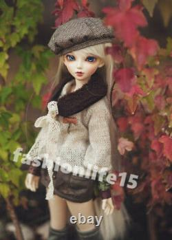 1/4 BJD Doll Girl free eyes + face make up Ball Jointed Dolls Resin C