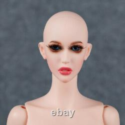 1/4 BJD Doll Sexy Women Lady Resin Bare Unpainted Doll + Free Eyes + Face Makeup