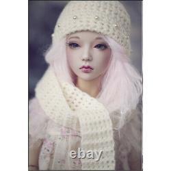 1/4 BJD SD Doll Lovely 17'' Girls Doll Resin Bare Doll + Free Eyes + Face Makeup