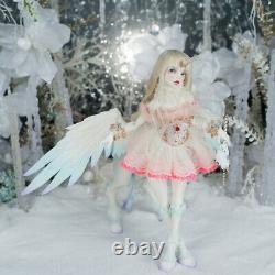 1/4 BJD SD Dolls Cute Girl Female Human Body Resin Doll + Eyes + Face Make up