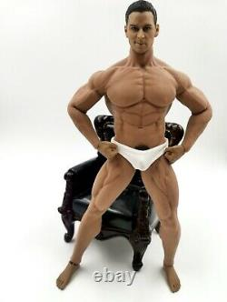 1/6 Gay Doll Toy Tom Finland Super Muscular Strong Man Male Body Action Figure