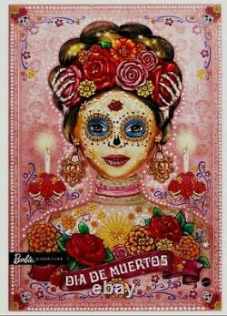 2020 Barbie Dia De Los Muertos (Day of The Dead) DOTD 2 Pink Doll Ships NOW