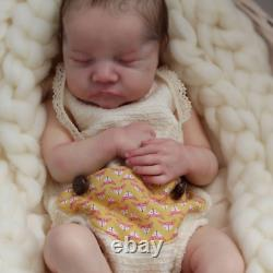 20'' Reborn Baby Doll Vinyl Silicone Body Sleeping + Clothes, (US ONLY)