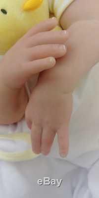 24 Last One Sunbeambabies 7lbs Donna Rubert Lifelike Toddler Reborn Baby