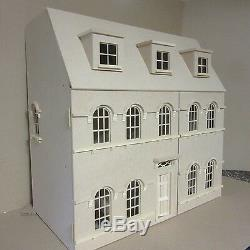 24th scale The Abbey House Dolls House Kit By DHD24th