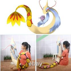90'' Sword and Shield Giant Milotic Plush Doll Stuffed Pillow Toy Xmas Gift