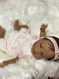 A A Biracial Reborn Baby Doll Alexis