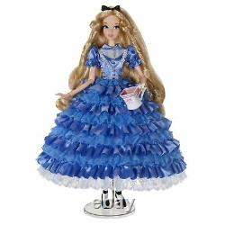 Alice in Wonderland Limited Edition Doll Disney Store Rare 17 inches