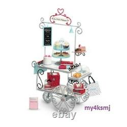 American Girl Doll Grace's PASTRY CART Set + BAKERY TREATS Accessories RETIRED