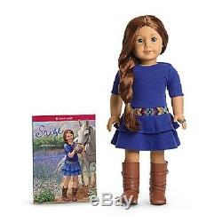 American Girl SAIGE DOLL and BOOK + RING Doll of Year 2013 SAME DAY SHIP sage