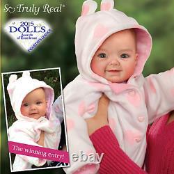 Ashton Drake Ping Lau 2014 Photo Contest Winner Savana Baby Doll NEW NIB
