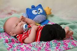 Baby Boy Doll Berenguer 14 Real Alive Soft Vinyl Silicone Preemie LifeLike
