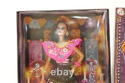 Barbie 2021 Female Dia De Los Muertos Day of The Dead Doll Mattel - IN HAND