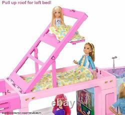 Barbie 3-in-1 Dream Camper Van and Accessories