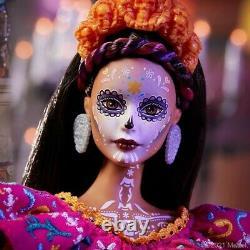Barbie Dia De Los Muertos 2021 Doll Day of the Dead by Mattel FACTORY SEALED