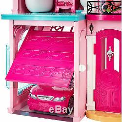 Barbie Dream House Doll Furniture 70+ Accessories Elevator Kid Children Play Fun
