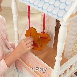 Barbie Dream House Size Dollhouse Furniture Girls Playhouse Play Fun Townhouse