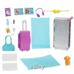 Barbie Dreamplane Playset with Dream Plane, Suitcase Trolley and Accessories