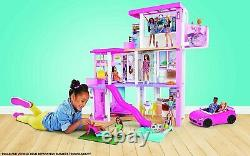Barbie GRG93 Dreamhouse Playset Girls 3 Story Doll Dream House Play Set 2021