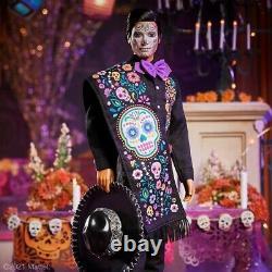 Barbie & Ken 2021 Dia De Los Muertos (Day of The Dead) Doll Set IN HAND
