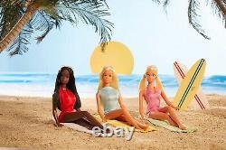 Barbie Signature Malibu Barbie & Friends Vintage Reproduction Gift Set 2021