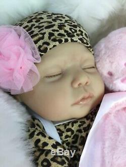 CHERISH DOLLS CHILDS 1st REBORN BABY GIRL LOLA FAKE BABIES REALISTIC 22 NEWBORN