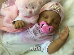 Cherish Dolls Ethnic Mixed Race Asian Reborn Doll Livvy Baby Girl Doll Uk Real