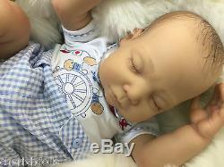 Cherish Dolls New Charlie Reborn Baby Fake Babies Realistic 22 Big Newborn Boy