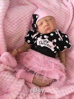 Cherish Dolls Reborn Doll Cheap Baby Girl Princess 22 Newborn Real Lifelike Uk