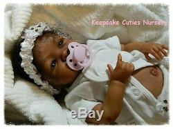 Custom Reborn baby doll AA, Biracial, Ethnic, Latina BOY or GIRL Shyann