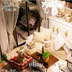 DIY Handcraft Miniature Project Wooden Dolls House My Little House in Paris