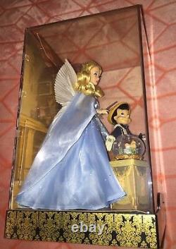 Disney D23 EXPO 2017 FAIRYTALE SERIES PINOCCHIO & THE BLUE FAIRY DOLL SET LE1023
