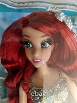 Disney Store Little Mermaid Ariel Limited Edition Doll 17 Brand New