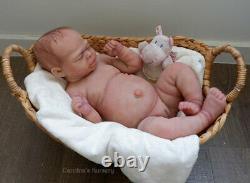 FULL BODY SILICONE REALISTIC REBORN BABY GIRL DOLL DRINK & WET by Carolina #2