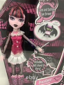 First Wave! NIB Draculaura Daughter Of Dracula Monster High Doll