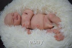 Full Body Soft Solid (PREMATURE 15) Silicone Baby doll / REBORN drink liquids