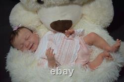 Full Body Soft Solid boy PREMATUR17Silicone Baby doll/REBORN drink liq