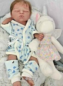 Full body anatomically correct 15 in silicone baby girl