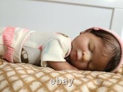 Full body mini silicone baby doll