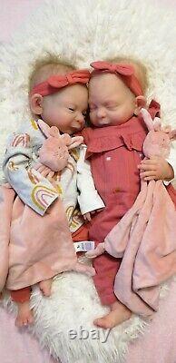 Full body silicone baby girl or boy custom made