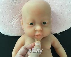 IVITA 16-inch Full Silicone Reborn Baby Girl Dolls 2KG Realistic Silicone Doll
