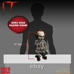 It (2017) Pennywise 15 Talking Figure Mezco horror doll
