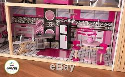 Kidkraft Sparkle Mansion Dollhouse Large Girls Woode Dolls House
