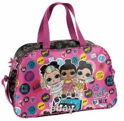 LOL Surprise Dolls Schulranzen 10tlg Set mit Federmappe Sporttasche Schulanfang
