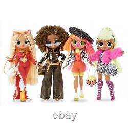LOL Surprise OMG 4 Pack Complete Collection Series 1 Fashion Dolls 80 Surprises