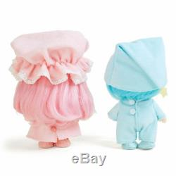 Little Twin Stars Soft Vinyl Doll Set kikilala Very rare Sanrio Japan